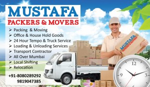 mustafa packers and movers